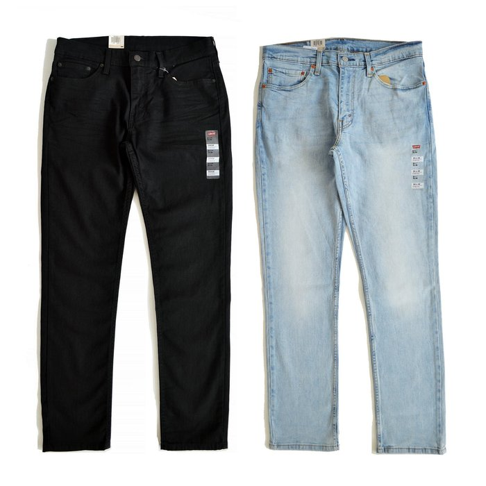 【 Wind 】美線 Levis 511 SLIM 重磅 純黑 牛仔褲 小直筒 微彈性布料 04511 2694