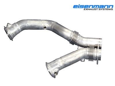 【樂駒】Eisenmann BMW F87 M2 Competition Downpipe 當派 排氣管 改裝 底盤