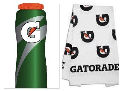 開特力 Gatorade 運動水壺(新款)+ 開特力 Gatorade 運動毛巾