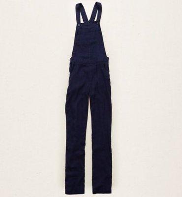 【BJ.GO】美國 AERIE SOFT TWILL OVERALL 復古棉麻吊帶褲 現貨