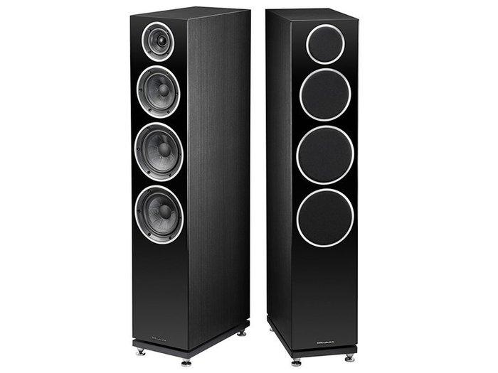 高傳真音響【DIAMOND 240 落地型喇叭】3音路被動式喇叭 Hi-Fi│黑白兩色│英國 Wharfedale