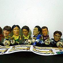 **雜貨部門**卡通 動漫 絕版 扭蛋 公仔 26 日本足球明星 8入 特價481元起標就賣一