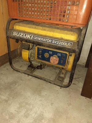 SUZUKI Generator SV2200LD 夜市發電機 汽油 發電機 工地發電機110v/220V兩用