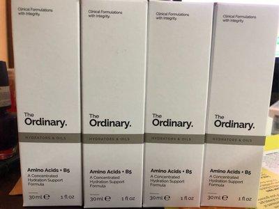 [任三免運]the ordinary amino acids + b5胺基酸+B5*30ml*新品超值