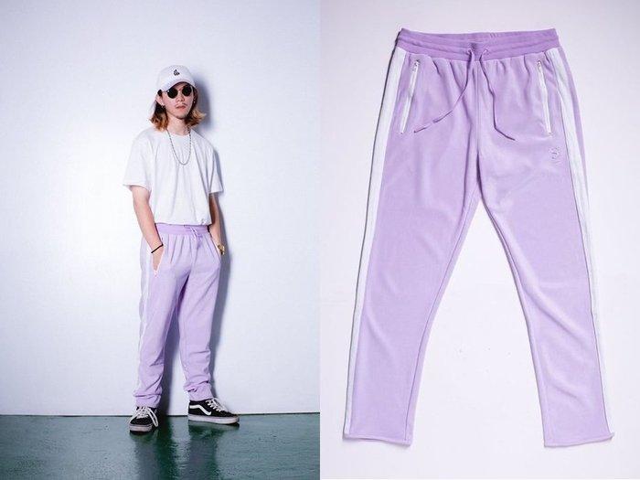 { POISON } MONEY&MONEY PURPLE PANTS 高校生紫色TRACK運動褲