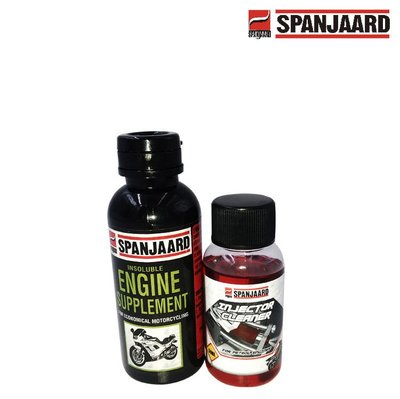 SPANJAARD 史班哲 鉬元素 機車專用 二硫化鉬機油精 100ml 全效汽油精 50ml 噴油嘴 拔水劑 奈米級