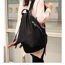 EmmaShop艾購物-正韓簡約防水尼龍雙肩後背包/日本製代購黑色