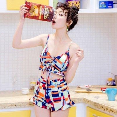 比基 尼 三件式 泳 裝-夏日時尚性感俏麗女泳衣3色73mb38[獨家進口][米蘭精品]