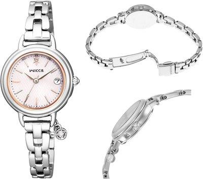日本正版 CITIZEN 星辰 wicca KL0-561-11 電波錶 手錶 女錶 太陽能充電 日本代購
