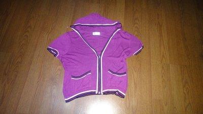 WAGER連帽短袖T恤(F)肩19胸22長22袖6.5(165花 )