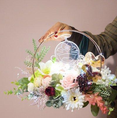 浪漫3D卡通投影灯//LED燈// 壓克力雕刻裝飾燈//鲜花包装材料