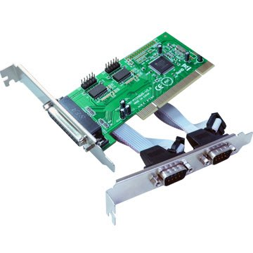 伽利略 PCI 2 Port RS232 + 1 Port  Parallel (PTRP02A)