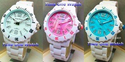 實體店面(可議價) Roven Dino_羅梵迪諾 時尚 超輕材質 樸素 玩色系腕錶 CH6041