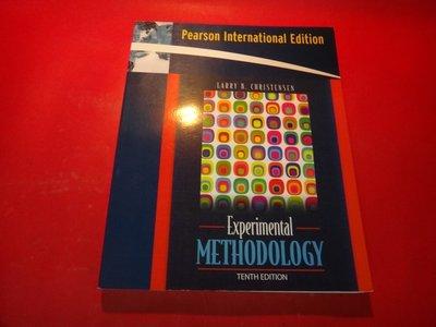 【愛悅二手書坊 22-13】Experimental Methodology