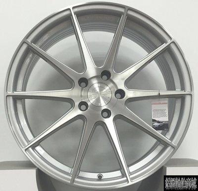 全新鋁圈 VERTINI RF1.3 19吋旋壓鋁圈 輕量化 銀底+髮絲銀面 5/114.3 5孔114.3