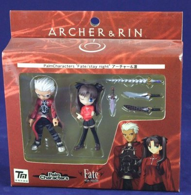 Shamoe 命運長夜 Fate/stay night Palm Scenery Archer&凜 套裝 現貨