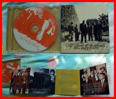 ◎1997-吹牛老爹-窮途末路專輯-等17首好歌-NO WAY OUT-Puff Daddy-節奏藍調-嘻哈-饒舌-CD