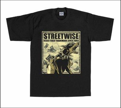 (安心胖) Streetwise Doberman Gang T-Shirt (Black) 3XL