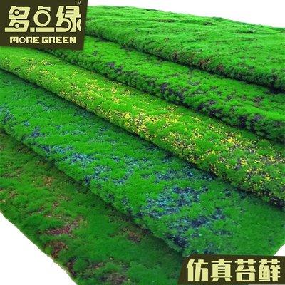 樹木仿真苔蘚綠色草坪植物墻青苔假草皮盆景櫥窗形象綠植墻面背景裝飾公主殿下樹木