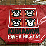 【小伶雜貨店】KUMAMON 熊本熊 酷Ma萌手提袋 便當袋 水餃包 全新