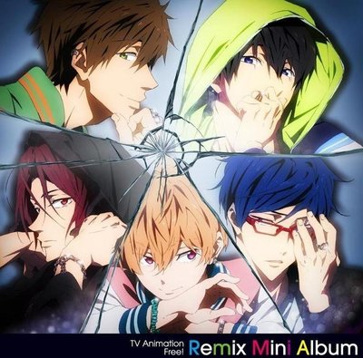 (代購) 全新日本進口《Free! 男子游泳部 REMIX MINI ALBUM》CD 日版 主題歌 音樂專輯