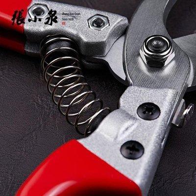 哆啦本鋪 家用修枝剪刀進口鋼園林剪刀修果樹花枝用剪刀D655