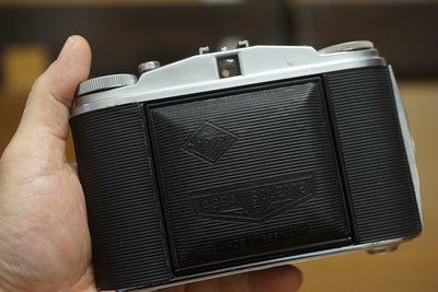 【售】經典個人收藏德製AGFA ISOLETTE II蛇腹古董估焦照相機 Made in Germany 1218