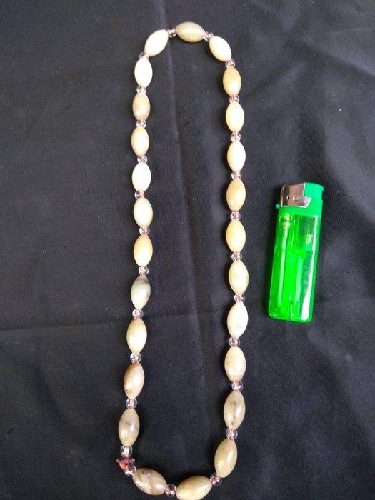 高古玉珠串(每顆珠2x1cm)