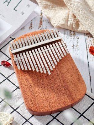 小花花精貨店-拇指琴卡林巴17音克林巴卡靈巴琴手指拇鋼琴姆指琴卡淋巴琴初學者#拇指琴