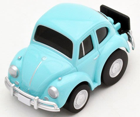 【秉田屋】TomyTec Z-31d Choro-Q 阿Q Volkswagen VW 福斯 Type I Beetle
