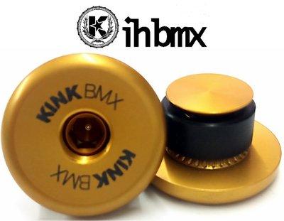 IH BMX 握把塞 KINK Ideal 金色 31mm 極限單車街道車單速車地板車Fixed Gear特技腳踏車
