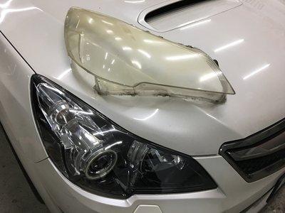 翔宸自動車 大燈鏡面更換工程 燈罩換新 非大燈拋光 ALTIS LEGAC CRV W211 W204 E60 F10