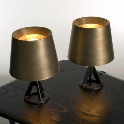 「美燈匯」TOM DIXON BASE TABLE LAMP設計師復刻簡約現代金屬檯燈[小號] M/D/2284