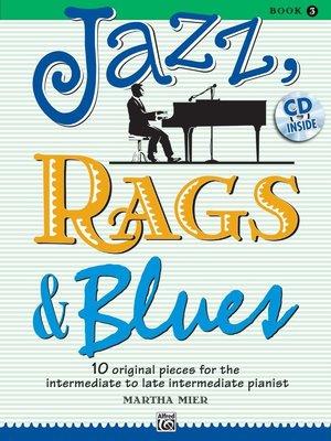 【599免運費】Jazz, Rags & Blues, 【書+1CD】Book 3 Alfred 00-36727