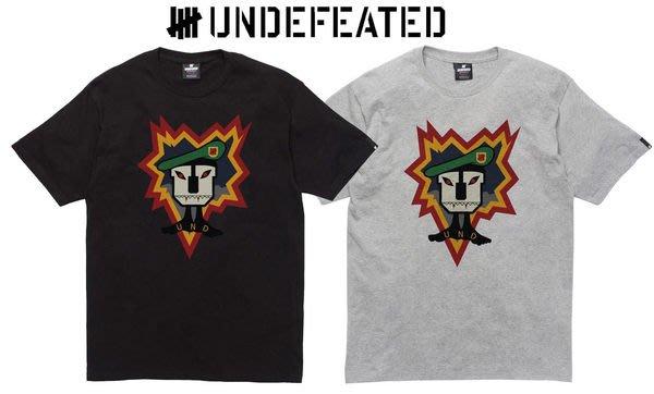 【 超搶手 】全新正品 2012 A/W 冬季新款 UNDEFEATED RECON TEE 黑色 S 白色 S 灰色 S M
