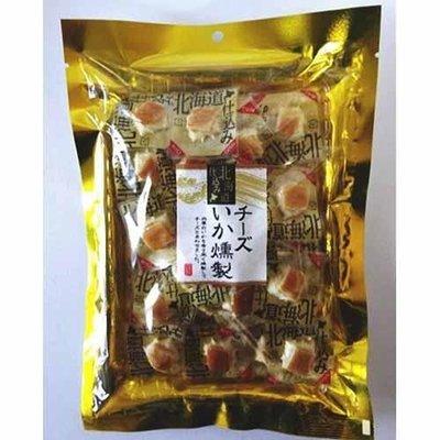 北海道 濃郁起司煙燻魷魚 滿口海味加奶香味 一口接一口喔~