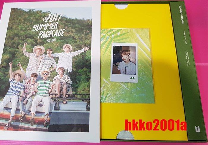 BTS [ 2017 Summer Package Vol.3 ] (Jimin 朴智旻自拍本) 防彈少年團 夏日