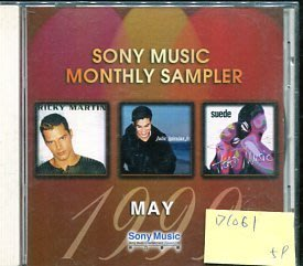 *愛樂二館* SONY MUSIC MONTHLY SAMPLER MAY 1999 二手 D1061