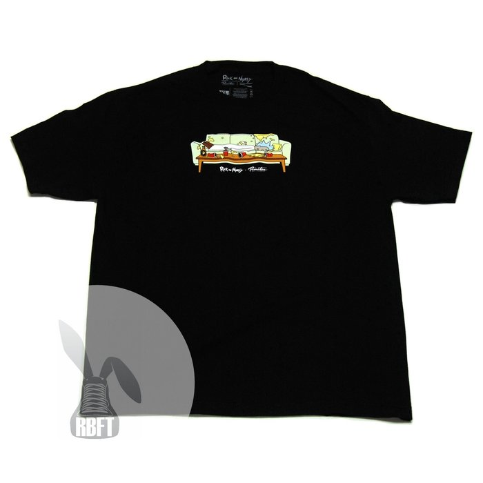 [RabbitFoot]Primitive x Rick and Morty Lights Out T-Shirt 黑色