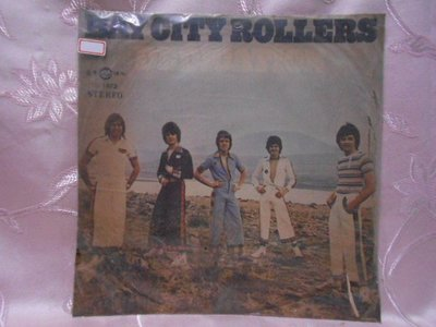 【采葳音樂網】-西洋黑膠–BAY CITY ROLLERS〝DEDICATION〞1224