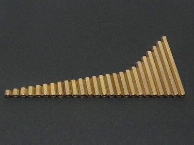 M3 10mm雙通銅柱 雙螺母6角銅柱 單根2元