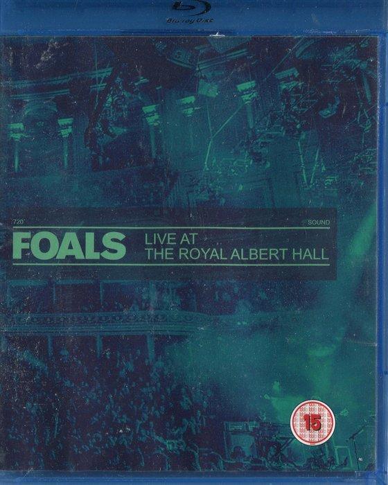 【塵封音樂盒】小馬樂團 FOALS  - 皇家亞伯廳現場實錄 藍光BD