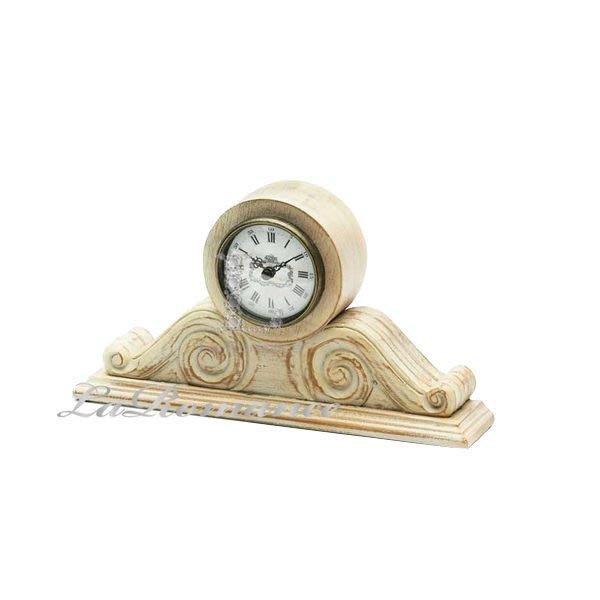 【芮洛蔓 La Romance】 Mindy Brownes - Mantle 木製復古時鐘 / 桌鐘