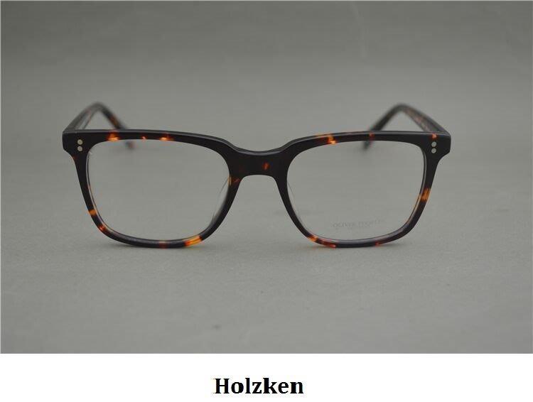 Oliver Peoples NDG-1 復古眼鏡框 方框眼鏡架 平光眼鏡 Eugene Tong同款鏡框 (玳瑁色)