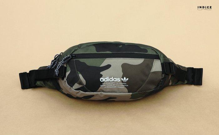 INDiCE ↗ adidas Originals Utility CrossBody CK6593 三葉草肩腰包 迷彩