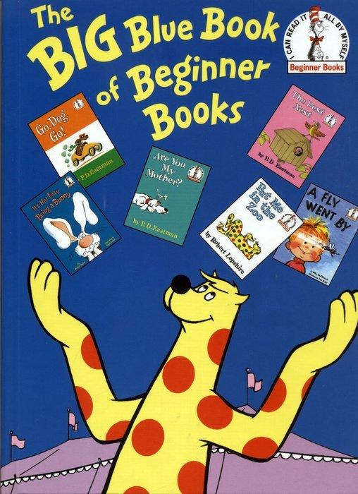 *小貝比的家*THE BIG BLUE BOOK OF BEGINNER BOOKS /合輯/精裝/78折