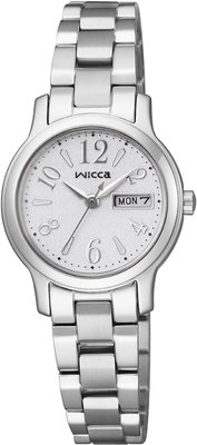 日本正版 CITIZEN 星辰 WICCA KH3-410-11 女錶 女用 手錶 太陽能充電 日本代購