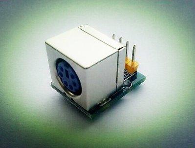 ps2模組 PS2滑鼠 鍵盤插座 相容arduino W1 [105055]