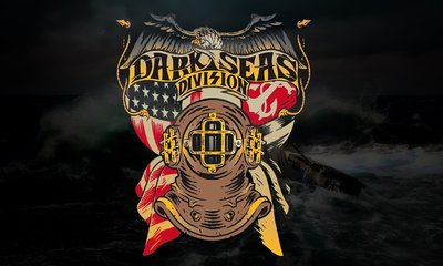 GOODFORIT / 美國 Dark Seas Copper Hat Blended 復古深潛黃銅頭罩短袖上衣