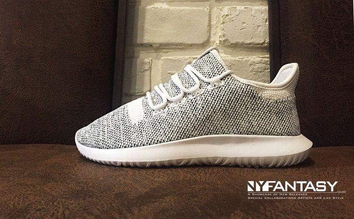 【美國鞋校】現貨 Adidas Tubular SHADOW J 灰白網布 小350 BY2221 女鞋